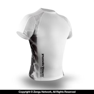 PunchTown Ice Mamba Rashguard - Short Sleeve